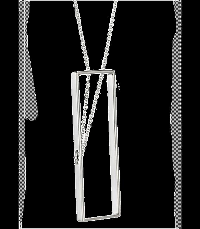 گردنبد دست ساز نقره آنالی