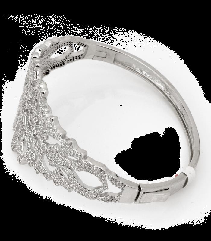 دستبند نقره زنانه ایتالیا پرنگین سلطنتی