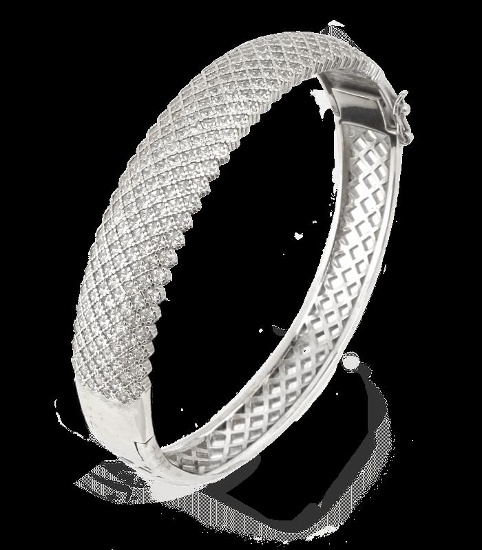 دستبند پرنسس نقره ایتالیا زنانه