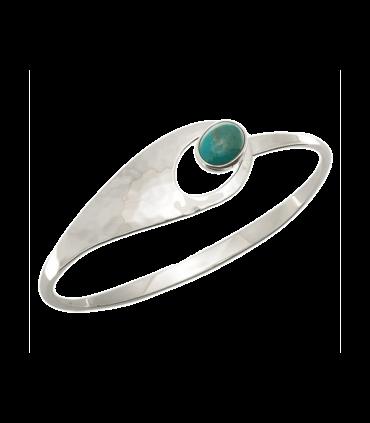دستبند دست ساز نقره زنانه رامک