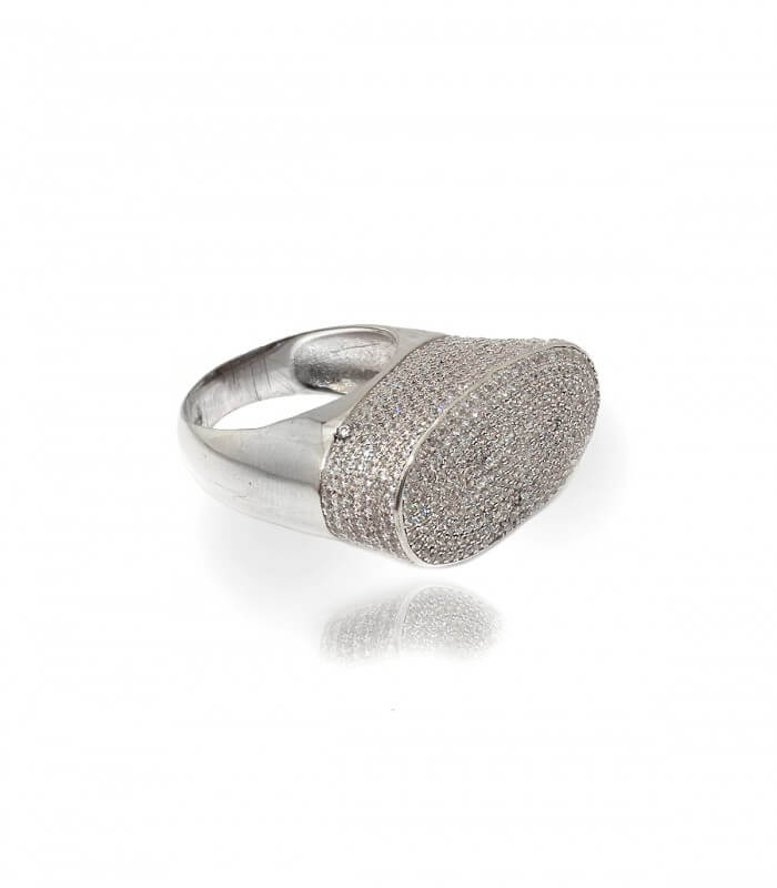 انگشتر نقره زنانه ایتالیا